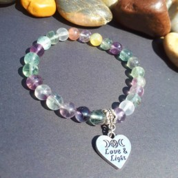 Fluorite, Love & Light Bracelet