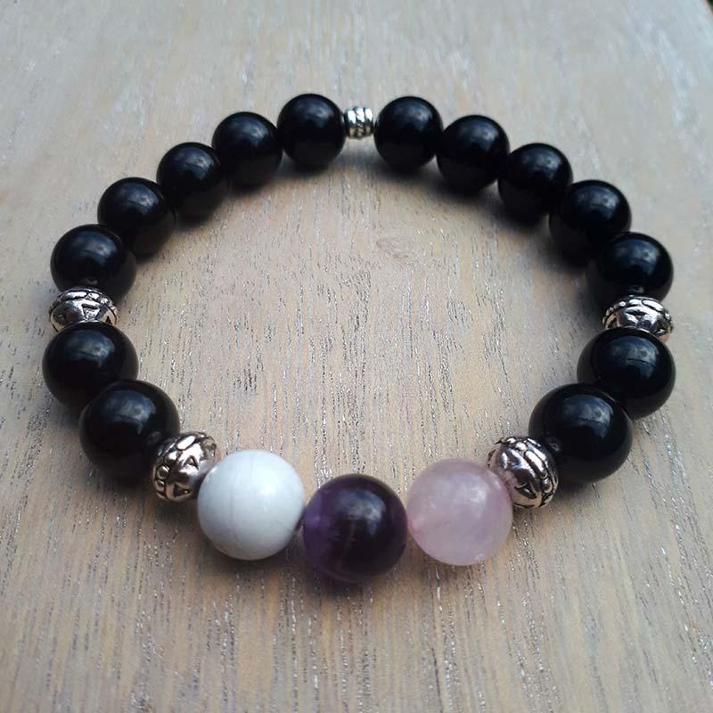 Peace and Harmony, Onyx Bracelet