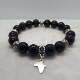 Africa and Onyx Bracelet