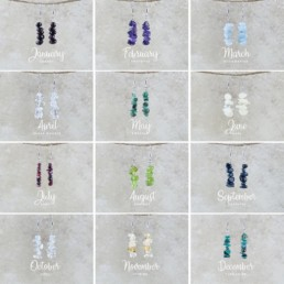 Nia9 Birthstone Jewellery Earrings Collection-1