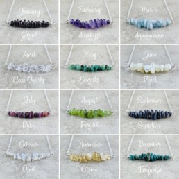 Nia9 Birthstone Jewellery Necklace Collection-1
