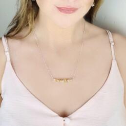 Raw Crystal - Birthstone Necklace
