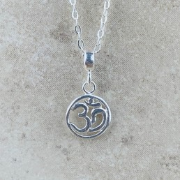 Om necklace ss