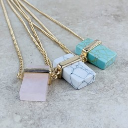 rectangle necklace collection1